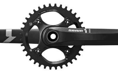 00.6118.360.002 - SRAM AM FC X1 1400 GXP 175 BLK DM32T NO BB Množ. Uni