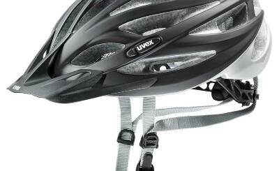 2021 UVEX HELMA OVERSIZE, BLACK MAT-SILVER 60-65