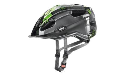 19 UVEX HELMA QUATRO JUNIOR, ANTHRACITE-GREEN Množ. Uni