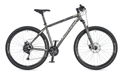 "AUTHOR Solution 29 2020 17"" stříbrná-matná MTB XC 29""kolo"